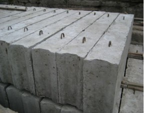 Блоки фундамента