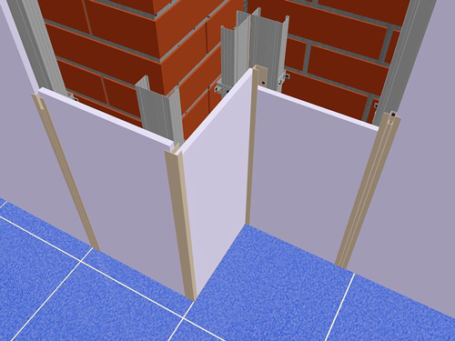 Как обшить стену панелями?