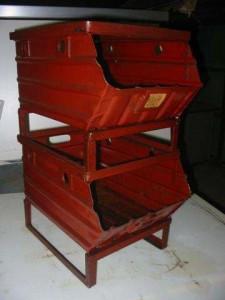 Металлический ящик-контейнер