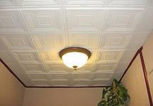 Немного о клеевых потолках