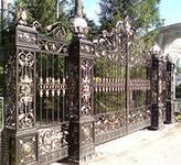 Немного о заборе и воротах