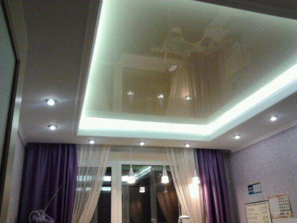 Несколько вариантов отделки потолков в квартире