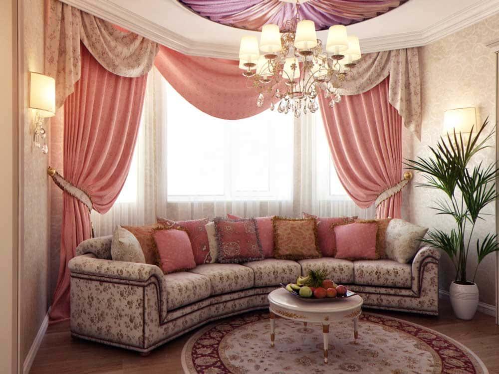 Подбираем цветовую гамму штор для каждой комнаты