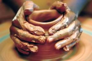 Подготовка глины к формованию