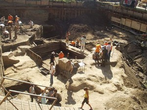 Порядок раскопок во время строительства