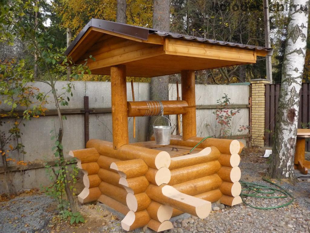 Предназначение и специфика изготовления домика для колодца