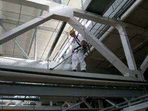 Проектирование и строительство промышленных зданий с этажами в межферменном пространстве