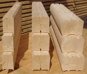 Профилированный брус. Его использование в строительстве