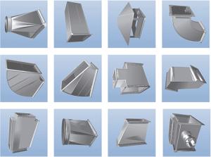 Производство прямоугольных воздухоотводов