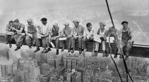 Рабочие первой группы
