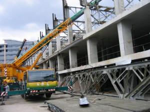 Реконструкция здания экспериментально-механического цеха в Москве