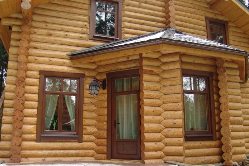 Самостоятельная установка окон в домах деревянного вида