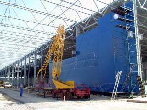 Совмещение строительных и монтажных работ