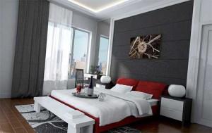 Спальная комната в современном дизайне