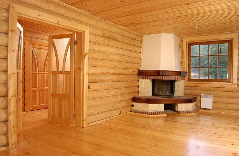 Внутренняя и внешняя отделка домов деревянного вида