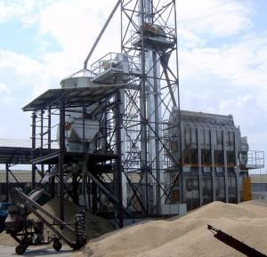 Зерносушильный агрегат