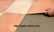 укладке керамической плитки