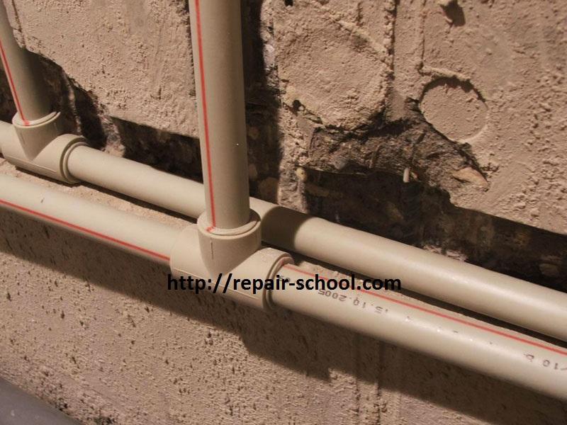 Как сделать водопровод своими руками: монтаж и разводка труб водоснабжения Школа ремонта