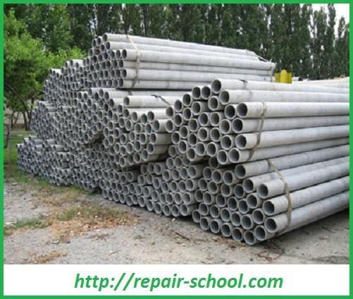 Асбестоцементные трубы для трубопровода