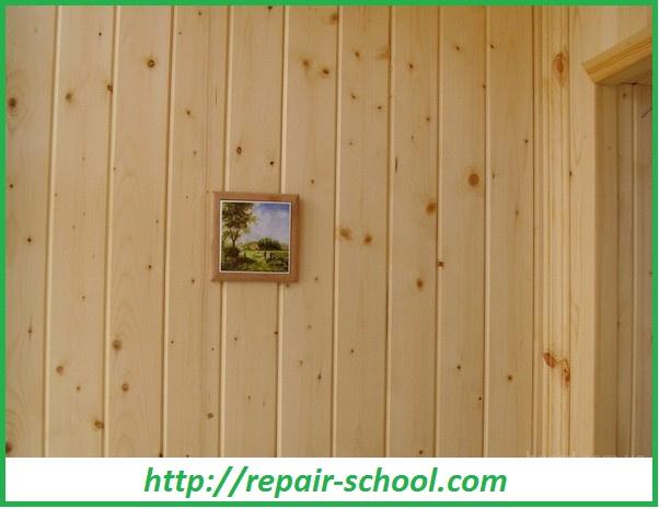 Деревянная обшивка внутренних стен