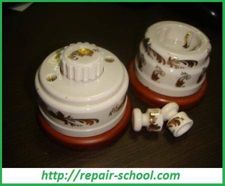 Детали для монтажа наружной электропроводки