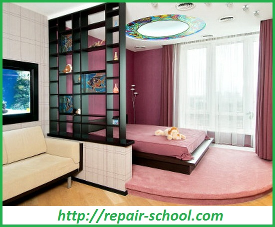 Зонирование гостинной с помощью мебели