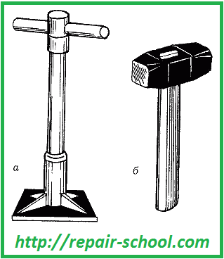Инструменты для работы с бутовой кладкой