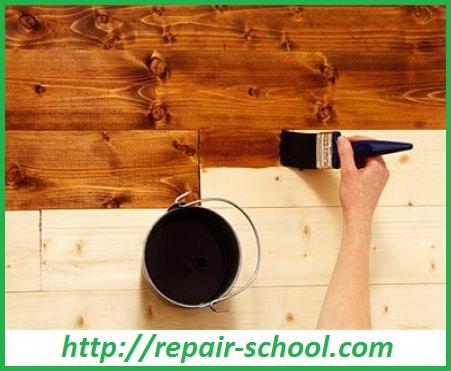 Лак для покраски деревянного пола