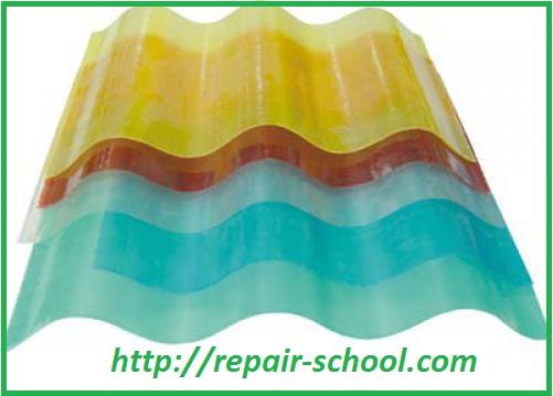Пластиковый прозрачный шифер