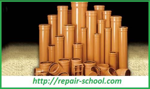 Пластмассовые трубы ПВХ