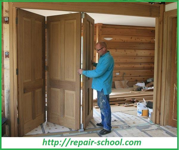 Установка дверей и окон в сруб