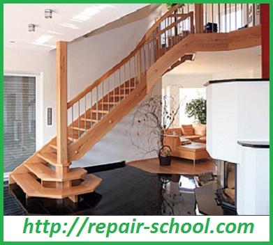 Фото деревяной лестницы на второй этаж