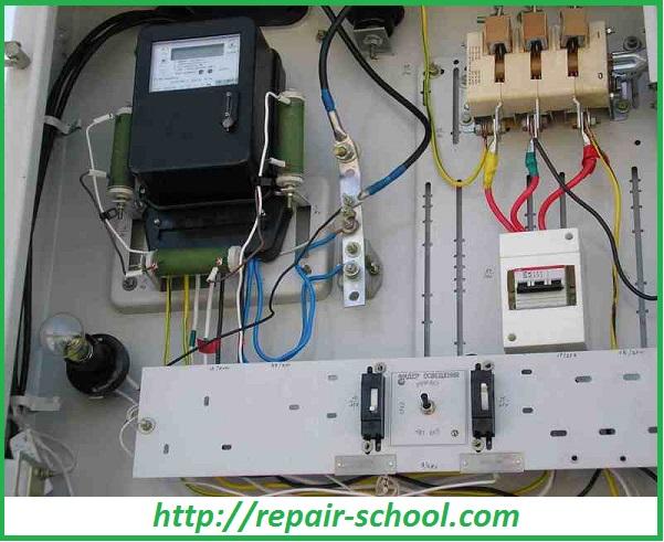 Электрооборудование дачного дома