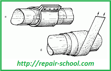 Ремонт стальных труб