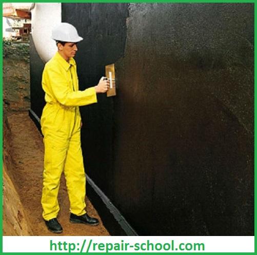 Гидроизоляция наружных стен подвала
