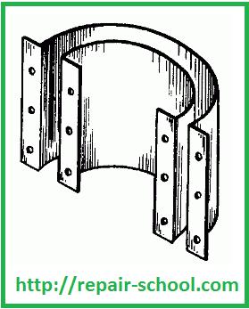 Опалубка для приготовления железобетонных колец