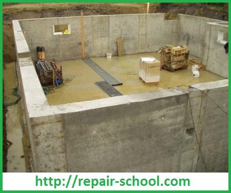 Стены из легкого монолитного бетона