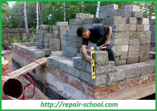 Строительство бани из арболитовых блоков