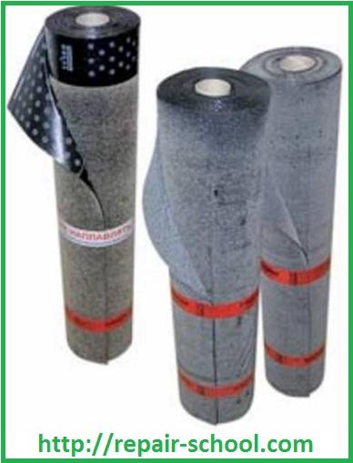 Гидроизоляционныйрулонный материал