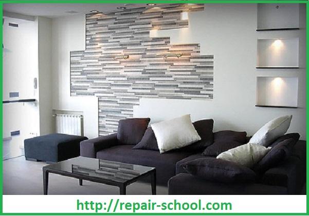 Дизайн гипсокартонных стен