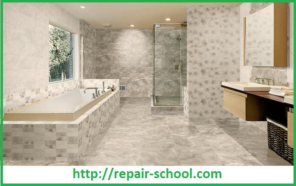 Отделка гипсокартонных стен керамической плиткой