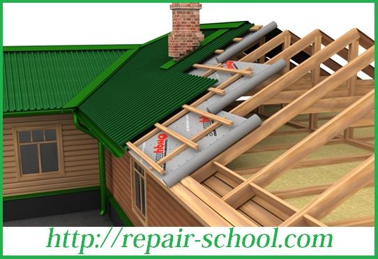 Гидроизоляционная пленка для крыши
