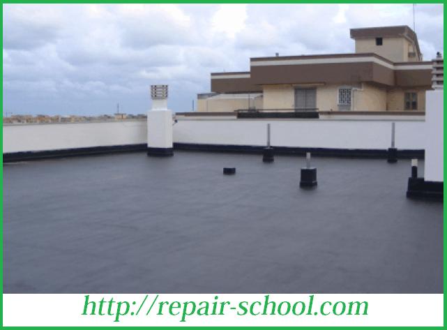 Гидроизоляция крыши мамбранным материалом