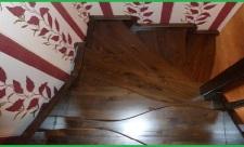 Как сделать деревянную лестницу утиный шаг своими руками