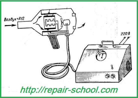электронный галоидный течеискатель гти-6