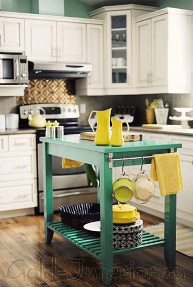 Компактный раскладной столик для маленькой кухни 10 кв м