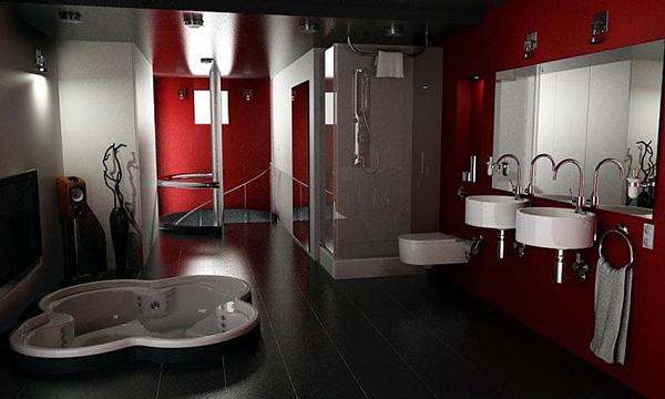 Фото ванной комнаты-24