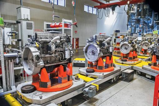ремонт промышленных двигателей Cummins