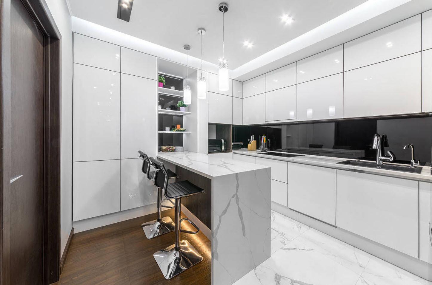 Уютное освещение для кухни