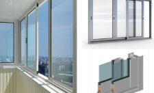 Нюансы застекления балкона